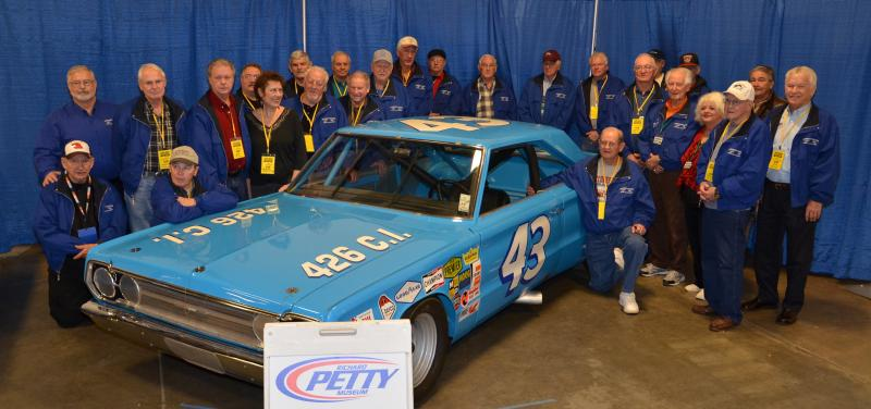 2014 Group Shot with Petty Car